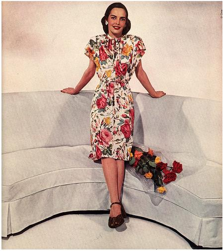 Vogue 1944 via myvintagevogue on Flickr