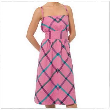 Plaid Sun Dress, $8.99