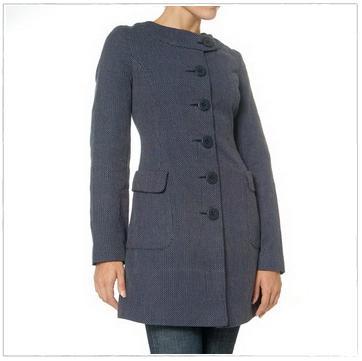 Pickstitch Coat, $8.99 (!!)