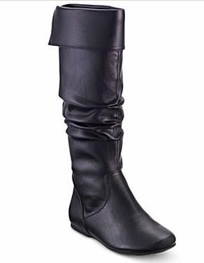 Decree® 'Clyde' Tall Scrunch Boot - JC Penney